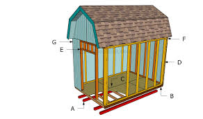 How To Build A Barn Shed   HowToSpecialist - How To Build, Step By ... 1216 Tall Barn Style Gambrel Roof Shed Plans Decorating Cool Design Of Framing For Capvating How To Build A Barn Shed Howtospecialist Build Step By Roof Plans Pinterest Plan Plan And A Mini Youtube Pole Tutorial 1 Of 12 Building Steel Buildings For Sale Ameribuilt Structures Pro Rib Edgerton Ohio Stunning Best Barns Richmond 16 Ft X 24 Wood Storage House Details Online Sheds