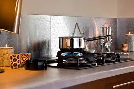 crédence cuisine à coller sur carrelage credence a coller sur carrelage 5 cr233dence cuisine metal