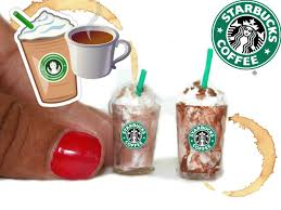 DIY MINIATURE Starbucks NO POLYMER