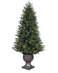 Ge Franklin Fraser Fir Christmas Tree by Artificial Christmas Trees Balsam Hill