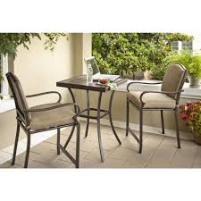 Castle Rock 3-Piece Patio High Bistro Set - The Open Box Shop Bar Outdoor Counter Ashley Gloss Looking Set Patio Sets For Office Cosco Fniture Steel Woven Wicker High Top Bistro Tables Stool Cabinet 4 Seasons Brighton 3 Piece Rattan Pure Haotiangroup Haotian Sling Home Kitchen Hampton Lowes Portable Propane Chair Walmart Room Layout Design Ideas Bay Fenton With Set Of Coffee Table And 2 Matching High Chairs In Portadown Carleton Round Joss Main Posada 3piece Balconyheight With Gray