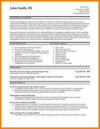 7 Engineering Resume Template Word