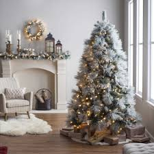 Silver Pre Lit Pop Up Christmas Tree by Whitechristmastree Club Page 5