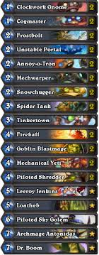 hearthstone deck list mech mage mech mage decklists and mulligans from the pros hearthstone