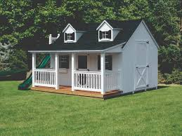 Shed Plans 8x12 With Porch by Sheds Barns U0026 Garages Pine Ridge Barns
