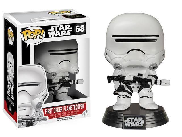 Star Wars Episode 7 Funko Pop Toy Figure - First Order Flametrooper