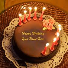 Whatsapp DP Name Birthday Wishes Lighting Candles Awesome Chocolate Cakes Profile line Name Happy Bi