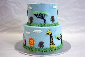 Baby Shower Safari Cake Safari Jungle Baby Shower Cake Toppers