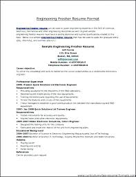 Electrical Resume Format Example Engineer Sample Electrician