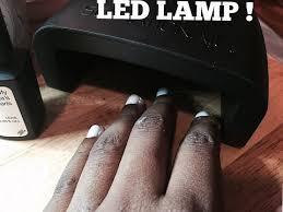 Sensationail Pro 3060 Led Lamp by Sensationail Led Lamp Review W Gel Polish Youtube