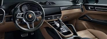 The 2018 Porsche Cayenne Interior
