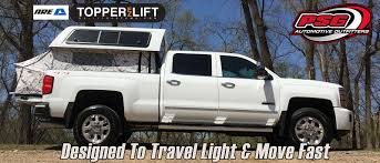 100 Truck Bed Topper ARE EZ Lift Cap And Tent PSG Automotive Outfitters
