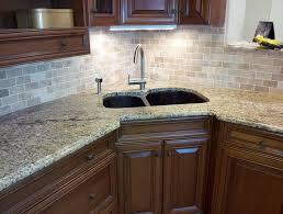 small granite countertops glass tile backsplash desjar interior