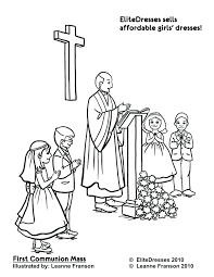 Communion Coloring Pages Free Printable Bible For Lent Catholic Christian Full Size