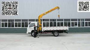 Truck Mounted Crane How-to Video - YouTube