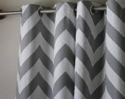 chevron curtains etsy