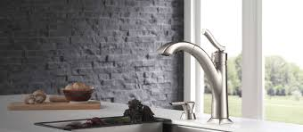 Delta Lewiston Pull Out Kitchen Faucet by Kine Kitchen Collection Delta Faucet