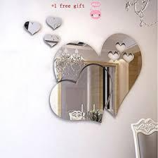 jeux de amoure dans la chambre kangrunmy 3d sticker muraux amour miroir sticker mural autocollant