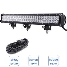 28'' 180W Offroad LED Light Bar Car Truck SUV ATV 12V 24V Wagon ... 75 36w Led Light Bar For Cars Truck Lights Marine High Quality 4 Led Car Emergency Beacon Hazard 50inch Straight Led Light Bar Mounting Brackets Question Jeep Cherokee Forum Inchs 18w Cree Light Bar Work Spot Lamp Offroad Boat Ute Car Double Side 108w Beacon Warning Strobe 6 Smd Work Reversing Red 15 11 Stop Turn Tail 3rd Brake Cheap Rooftop Better Than Stock Lights Toyota Fj 18 108w Cree 3w36 8600lm Off Road Atv