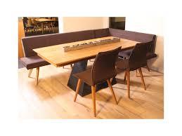 esstisch mit bank und 2 stühlen table à manger avec banc