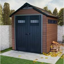 Keter Manor Shed Grey by Storage Sheds
