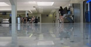Cleaning Terrazzo Floors With Vinegar by Floors Restored At Dfw Airport The Concrete Network