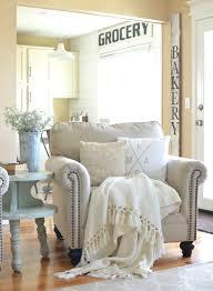 refreshed modern farmhouse living room vintage nest