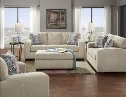 Affordable Furniture Silverton Platinum Sofa Loveseat Set 5900