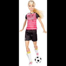Barbie Made To Move Soccerblonde Hair