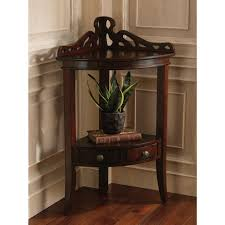 Living Room Corner Cabinet Ideas by Marvelous Best 25 Corner Accent Table Ideas On Pinterest Of For