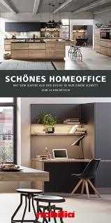 küche und homeoffice stilvoll kombiniert wohnen wohnung