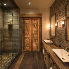 Rustic Bathroom Wall Art