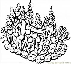 Printable Colouring Sheets Garden Beautiful Coloring Page For Kids And Adults