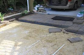 Rubber Paver Tiles Home Depot by Pugs And Bubbles Building A Patio