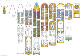 Images Deck Plans by Seabourn Odyssey Deck Plans Diagrams Pictures