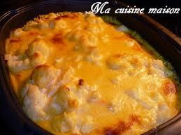 comment se cuisine la patate douce gratin de choux fleurs a la bechamel de patate douce recette