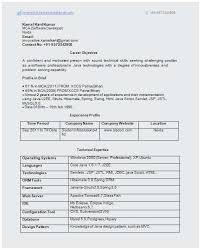 Sample Resume For 2 Years Experienced Java Developer Perfect 52 Lovely Software Testing Samples