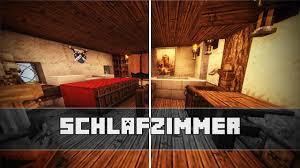 schlafzimmer mittelalterliche einrichtung minecraft tutorial