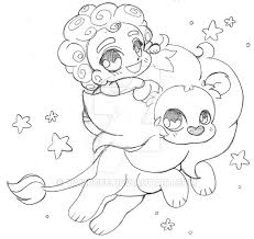 Steven And Lion Universe By YamPuff On DeviantArt