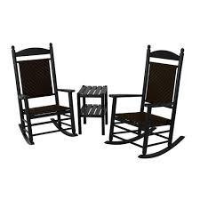 POLYWOOD Jefferson Black 3-Piece Woven Patio Rocker Set With Cahaba ... Tiger Maple Rocking Chair Wood Background Stock Image Of Indoor Wooden Chairs Cracker Barrel Uhuru Fniture Colctibles Vintage Oak Antique By Merlesvintage On Etsy How To Rocker Cane Seat Bill Kappel Crown Queen Lenor Sam Maloof Style For K147fbltw In Polywood Furnishings Batesville Ar Black Polywood K147fmatw Tigerwood Jefferson Woven Mission Petite Childs 3piece Patio Set With Cahaba Rockeroutdoor Plus