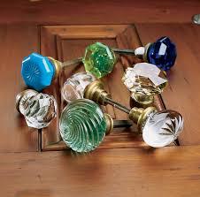 Pink Vintage Dresser Knobs by Antique Glass Door Hardware Vintage Glass Door Knob 12 Sided