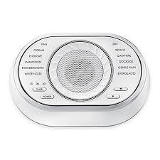 Bed Bath And Beyond Talking Bathroom Scales by Sound Machines Bed Bath U0026 Beyond