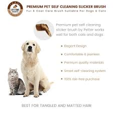 Sheltie Shedding In Clumps by Amazon Com Premium Pet Self Cleaning Slicker Brush By Petter