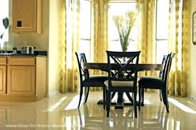 Dining Room Curtain Ideas For Living Modern Luxury Astounding Dinin Window Curtains Large