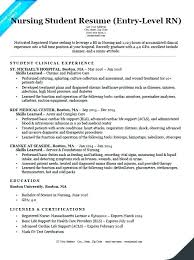 Sample Nursing Resume For Job Nurse Resumes Graduate Samples Example Of A Rn Cover Letter Template