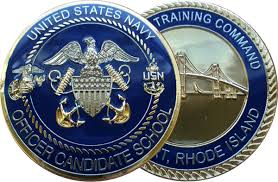 ficer Candidate School Coin