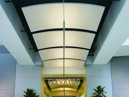Armstrong Suspended Ceiling Grid by Acoustic Ceiling Clouds Optima Canopy Curved By Armstrong Building