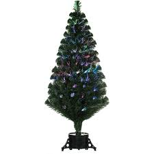 remote control green 120cm 4ft fibre optic christmas tree