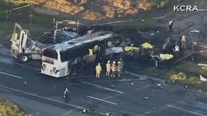 100 Fedex Truck Accident 9 Killed In Tour Bus Crash In Northern California Abc7com