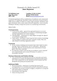 Cv Examples Uk Skills Resume Format Excel Templates Skill Based Nz Hr Exampl Large Size